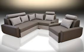 sofa bed mood with single chair all colours available