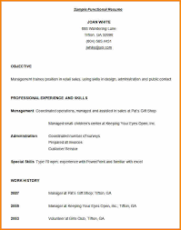Sample Combination Resume Example by Combination Resume Template