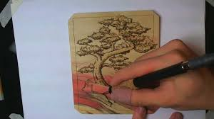 wood for wood burning how to wood burning a bonsai tree design