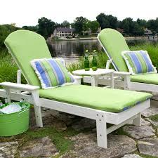 Beach Chaise Lounge Chairs Polywood South Beach Chaise Lounge Cushions