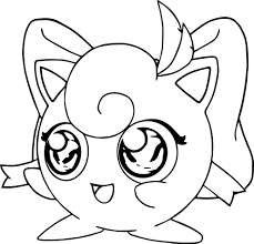 jigglypuff coloring page wecoloringpage