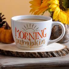 halloween coffee mug morning pumpkin mug mondays gold and coffee