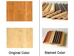 choose bamboo floor tips original color structure stability