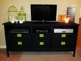 awesome nine storage drawers strong dovetail smooth painted tv stand throughout dresser tv stand combo jpg