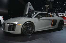 Audi R8 2017 - special edition audi r8 v10 plus comes with laser headlights