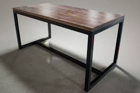 metal bar height table bar height dining table yamwood foundry