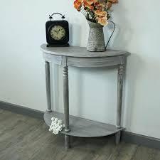 half table small half moon foyer e e design half moon oak