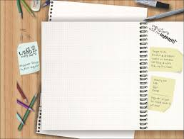 free powerpoint templates note paper powerpoint background 9674