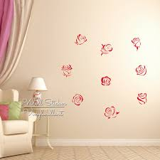 aliexpress com buy roses wall sticker roses flower wall decal aliexpress com buy roses wall sticker roses flower wall decal diy modern rose flower sticker cut vinyl stickers f12 from reliable sticker labels for