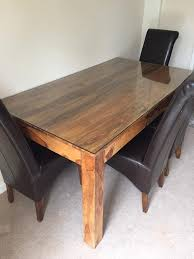 glass top to protect wood table solid wood table and extra glass top bought to protect in