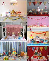 Carnival Themed Table Decorations 126 Best Circus Party Ideas Images On Pinterest Circus Party
