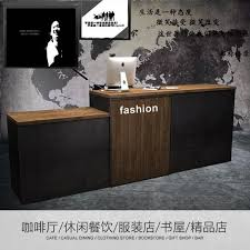 Industrial Reception Desk Usd 441 67 Retro Industrial Wind Checkout Cafe Bar Desk Reception