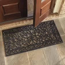 Come In And Go Away Doormat Highgate Doormat Double Door Ballard Designs