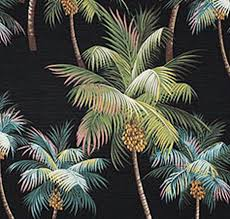 curtain creative curtains and upholstery admirable palm tree