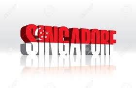 Singapore Flag Button 3d Clipart Singapore
