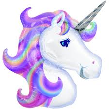 amazon com unicorn foil balloon toys u0026 games