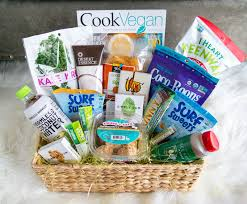 vegetarian gift basket vegan easter basket the glowing fridge