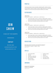 Job Gateway Resume by 2 Free Resume Templates U0026 Examples Lucidpress