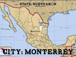 Monterrey Mexico Map by Mexico By Beth Baker Knuttila