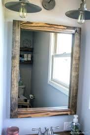 reclaimed wood bathroom mirror bathroom mirrors wood vanity mirror house decorations reclaimed