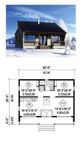 tiny house plan 59163 total living area 600 sq ft 1 bedroom