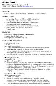 Resume Without Picture Examples Of Chronological Resume Resume Example And Free Resume