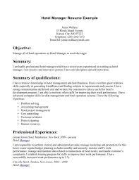 resume template administrative manager job specifications ri hotel manager cv template job description cv exle resume