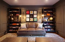 Armchair Sofa Design Ideas Awesome Gray Leather Sofa Decorating Ideas For Home Office