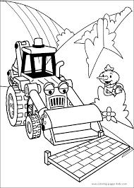 digital dunes bob builder coloring pages kids
