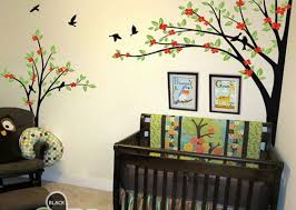 corner two trees bird flower blossom wall decals nursery decor corner two trees bird flower blossom wall decals nursery decor kids baby gifts arts stickers mural
