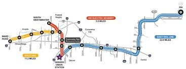 rtd rail map denver s commuter rail partnership gets a look