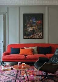 13 ideas that will make you fall in love with a red sofa red