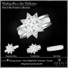 star wedding rings images Second life marketplace infinity wishing in a star wedding jpg