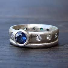 sapphire studios black moissanite white mcfarland designs ethical jewelry using fair trade stones and