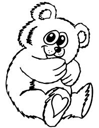 cute teddy bear cartoon coloring u0026 coloring pages