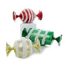 candy ornaments winter set of 3 glass candy led ornaments 8396460 hsn
