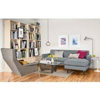Reese Sofa Room And Board Reese Sofa With Reversible Chaise Living Room Modern Living Room
