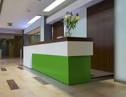 Modern Reception Desks by Reception Desks George Thomas Joinery