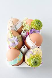 Easter Egg Decorations Diy by Easy Diy Easter Egg Decorating Ideas For Adults