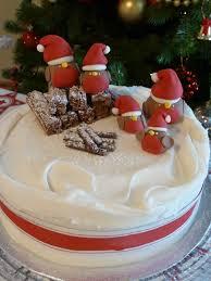 christmas cake inspiration to create festive robins cake garden