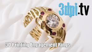 3d printed engagement ring customized 3d printed engagement rings