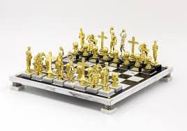 rocklen ry trophy modern chess set basketball u2013 lacma store