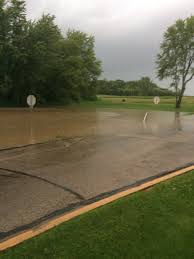 extensive flooding reported in southeast wisconsin 2 6 inches of