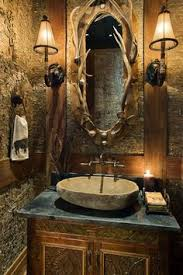 cave bathroom decor the awesome rustic deer antler decor ideas 50 pictures antlers elk