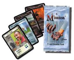 Card Game Design The Mission Booster Display 36 Packs Cactus Game Design Inc