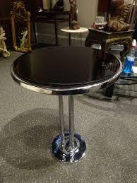 art deco chrome side table art deco furniture and deco