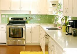 green kitchen backsplash green tile backsplash kitchen lochman living