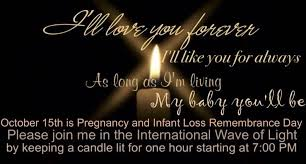 infant loss candles october 15th is pregnancy and infant loss awareness day
