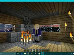 How To Make A Table In Minecraft How To Make A Fireplace In Minecraft How To Make A Fireplace And