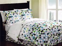 Teenage Bed Comforter Sets by Minecraft Pixels Comforter Set Teen Bedding Bed In A Bag Geometric